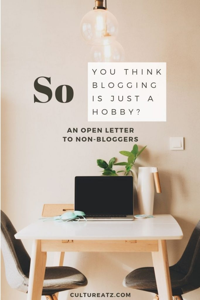 Open Letter to Non-Bloggers - Blogging is Easy, right?